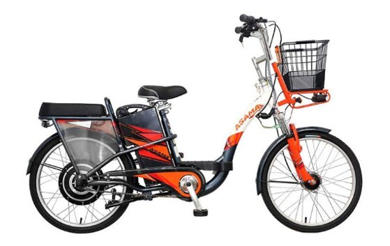 Xe đạp điện Asama giá bao nhiêu kèm review đánh giá chi tiết