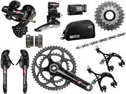 Xe đạp lắp ráp: Chọn groupset Shimano, SRAM hay Campagnolo?