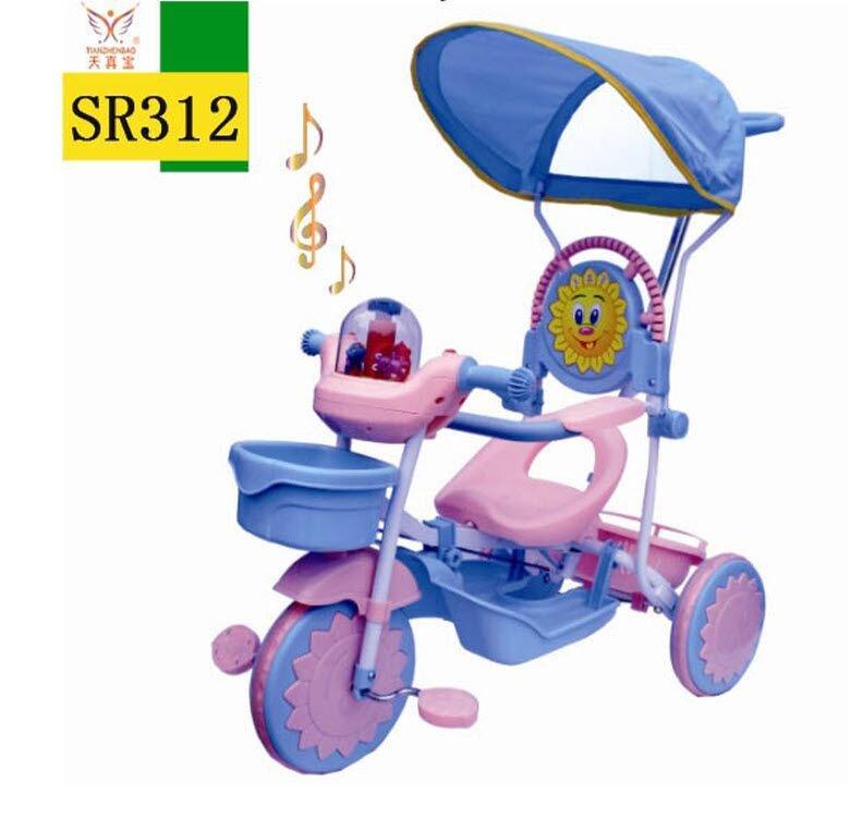 Xe đẩy 3 bánh SR312 – Xe đẩy cho bé từ 1 đến 5 tuổi