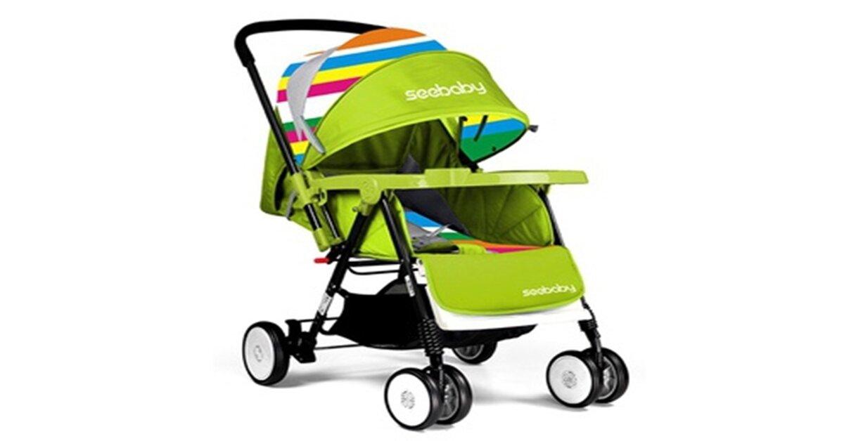 Xe đẩy cho bé Seebaby giá tăng hay giảm trong tháng 6/2018 ?
