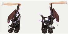 Xe đẩy Combi Cozy Wellcomfort với đệm chống gù êm ái và an toàn cho bé