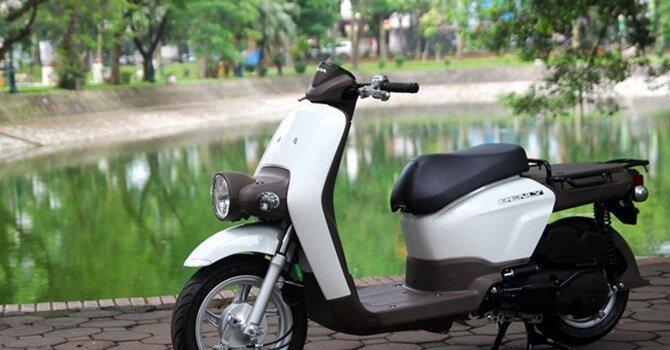 Xe ga kiểu dáng lạ Honda Benly 110