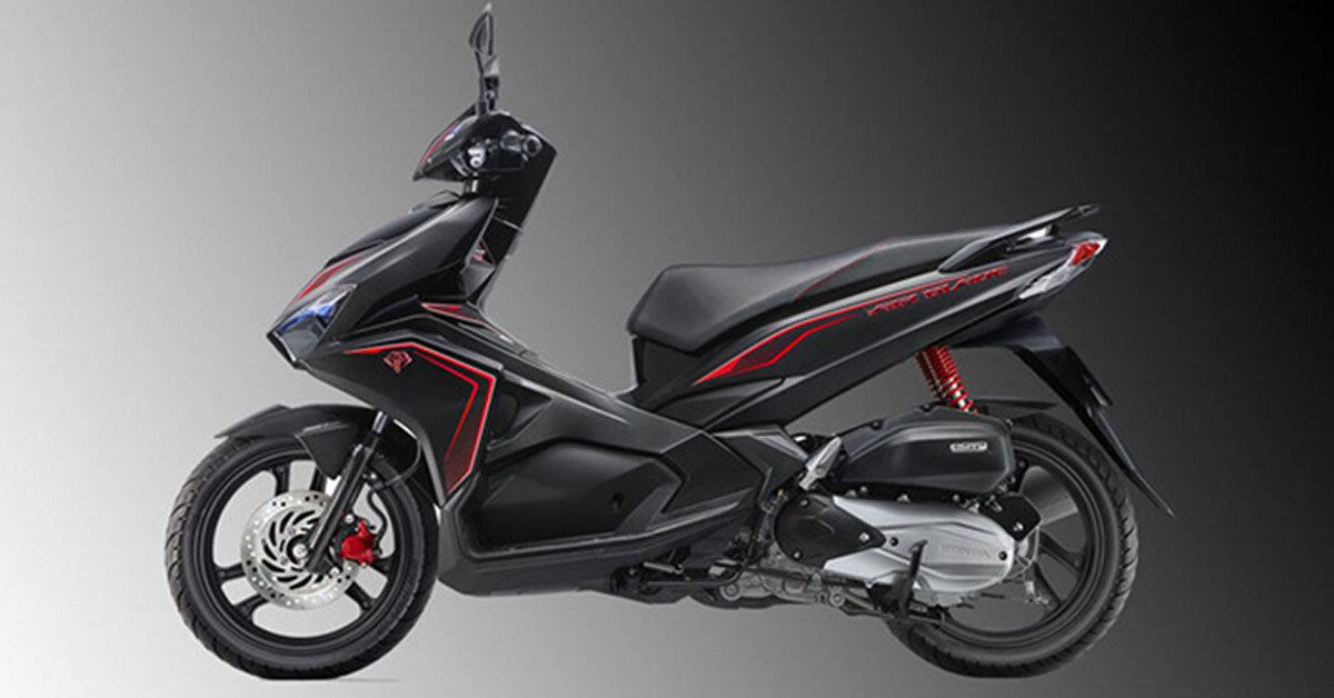 Xe máy Honda Air Blade 2018 phiên bản kỷ niệm 10 năm giá bao nhiêu tiền? Có gì khác so với 2017?