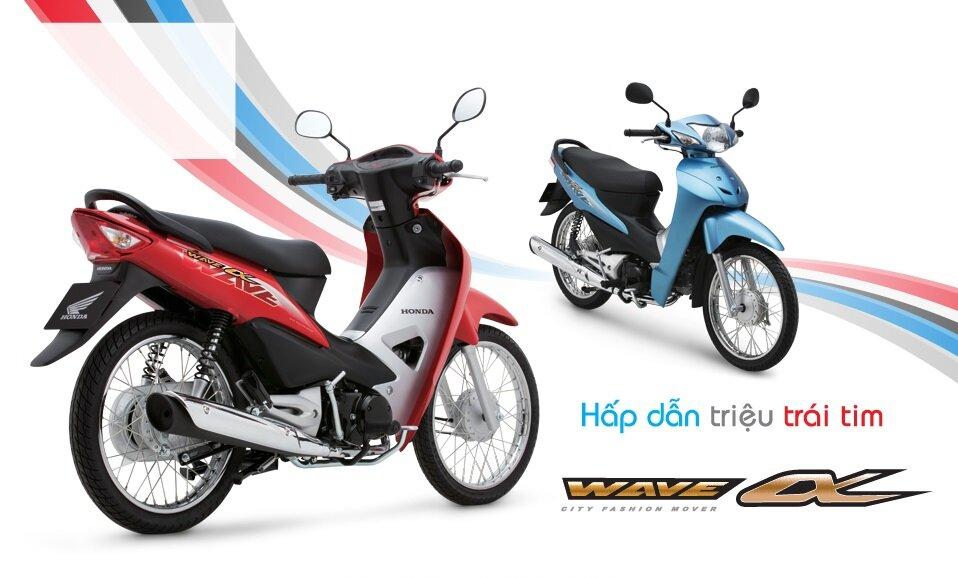 Xe máy Honda Wave Alpha 2018 giá bao nhiêu tiền ? có mấy màu ?
