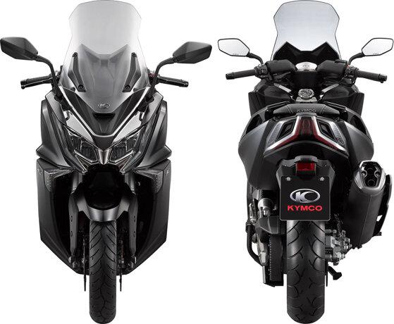 Xe máy tay ga phân khối lớn Kymco AK550 2017 sẽ cạnh tranh với Honda PCX và Yamaha NMX