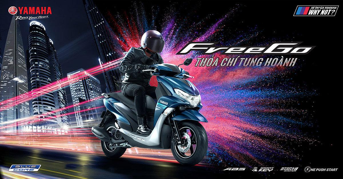 Xe máy Yamaha FreeGo 125 có những màu nào? Màu nào đẹp nhất?