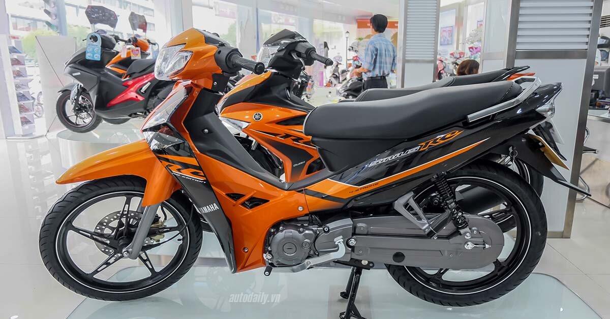 Xe máy Yamaha Sirius 2018 ra mắt màu cam hoàn toàn mới – giá rẻ không đổi