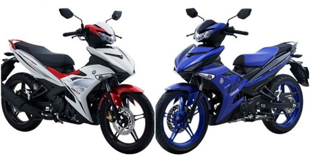 Xe tay côn Yamaha Exciter 135/150 năm 2019 có những màu sắc nào?