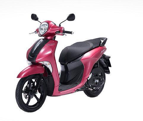 Xe tay ga giá rẻ Yamaha Janus màu hồng giá bao nhiêu tiền?