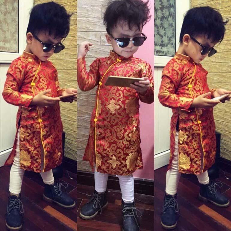 quần áo tết 2018 cho bé