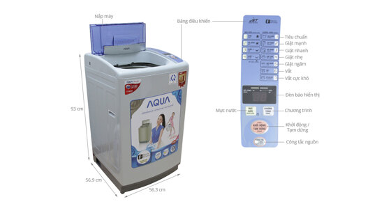 Xem ngay những công nghệ mới nhất của máy giặt cửa trên Aqua