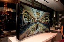 Xem Samsung trình diễn màn hình tivi có thể uốn cong tùy ý tại CES 2014
