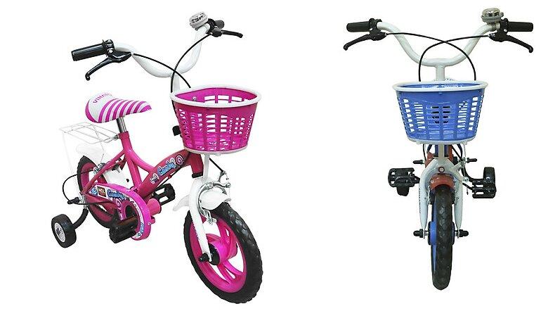 Xe đạp trẻ em 3 tuổi Nhựa Chợ Lớn12 inch K105 - M1818-X2B - Giá tham khảo: 399.000 vnđ