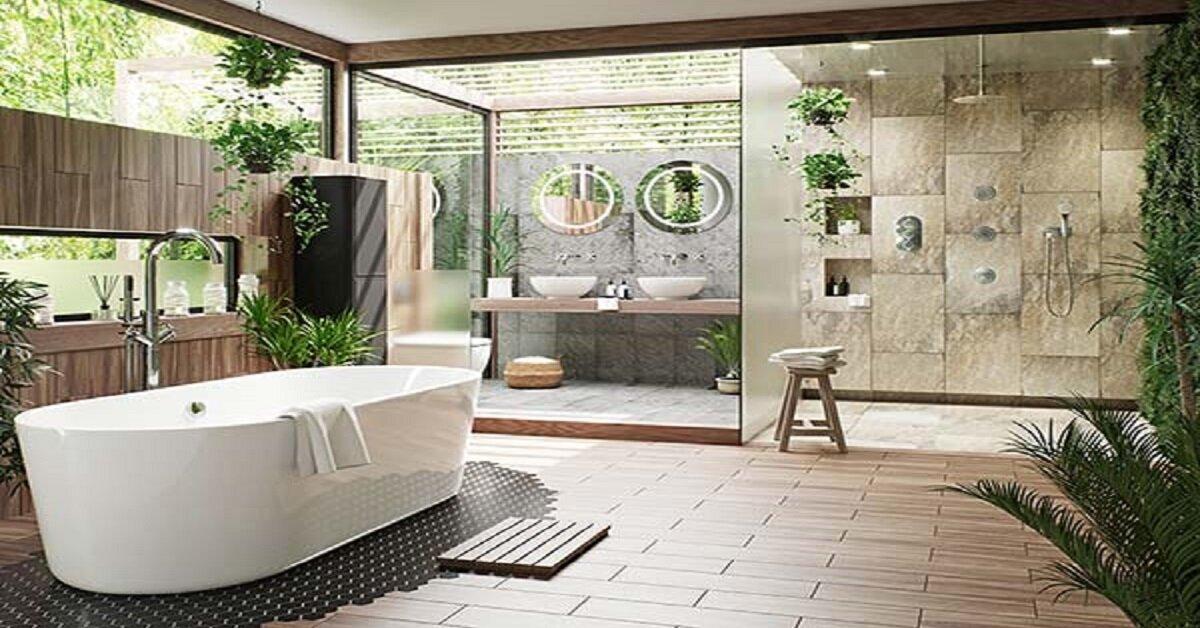 bố trí nội thất phòng tắm cao cấp đẹp