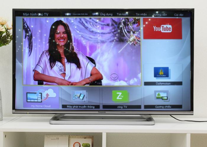 giao diện my home screen trên tivi panasonic