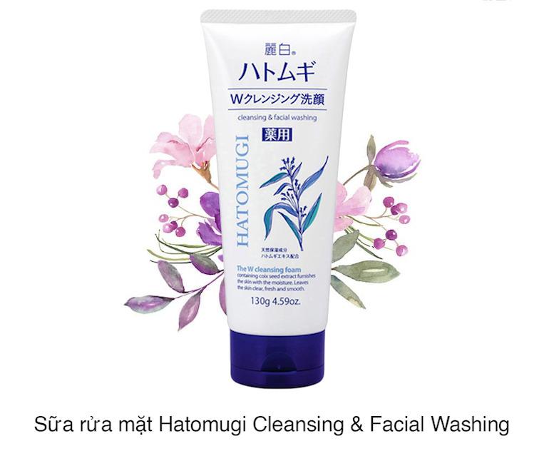 Tìm hiểu về thương hiệu sữa rửa mặt Hatomugi