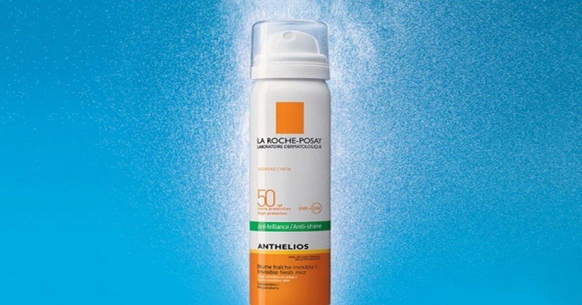 Xịt chống nắngLa Roche Posay Anthelios Anti-Shine Invisible Fresh Mist SPF 50 giảm giá chưa từng có nhân dịp sinh nhật Lazada lần thứ 6