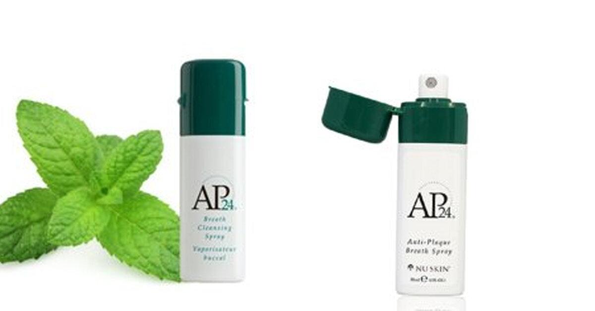 Xịt miệng AP24 : Anti-Plaque Breath Spray – Cứu tinh cho khoang miệng của bạn