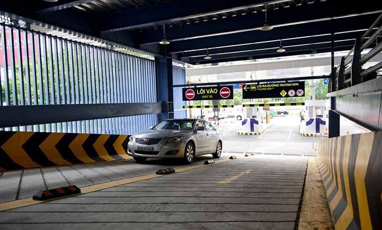 gửi xe tại sân bay tân sơn nhất