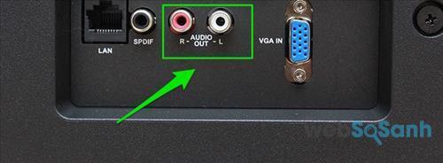 Audio Out R- L