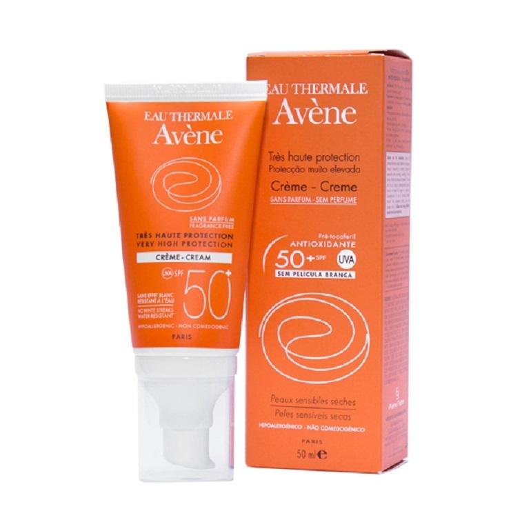 Kem chống nắng cho da nhạy cảm Avène Very High Protection Cream SPF 50+
