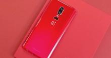 Điện thoại OnePlus 6 màu đỏ sang chảnh ra mắt thị trường