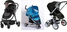Tổng hợp giá các loại xe đẩy cho bé thương hiệu Babylove Nhật Bản