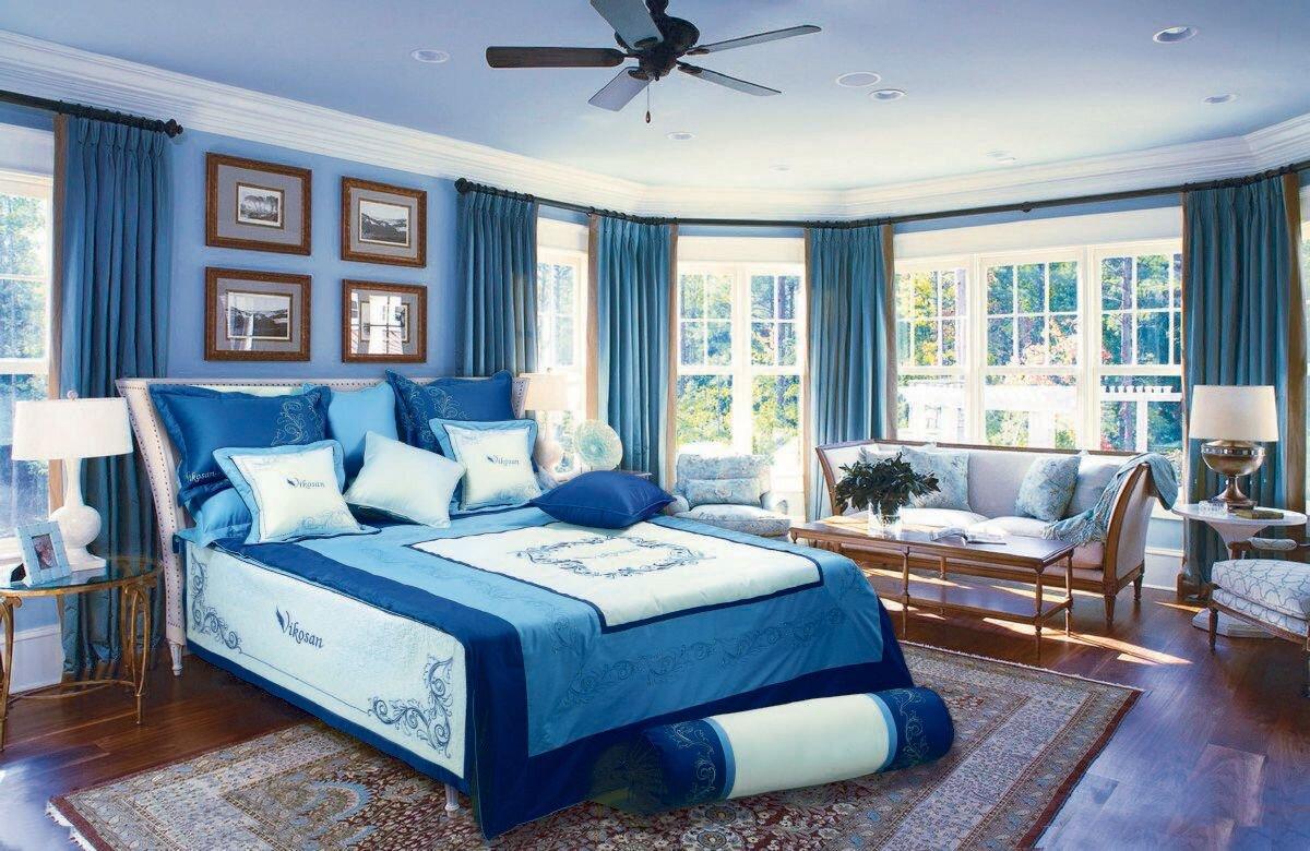 Lựa chọn chăn ga gối đệm hài hòa với màu sắc của phòng