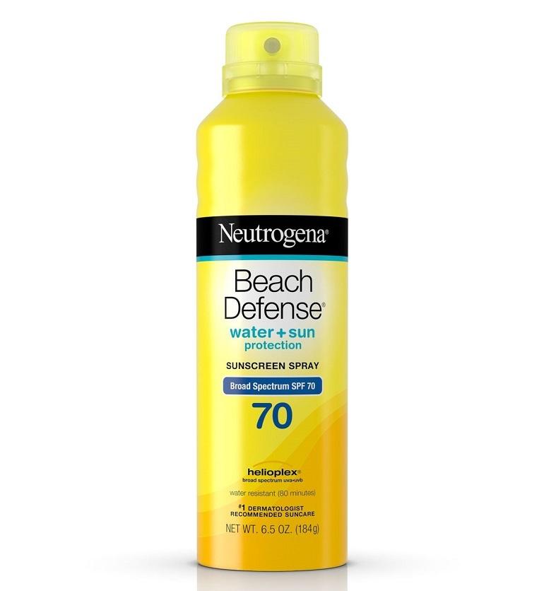 Kem chống nắng dạng xịt Neutrogena Beach Defense Water