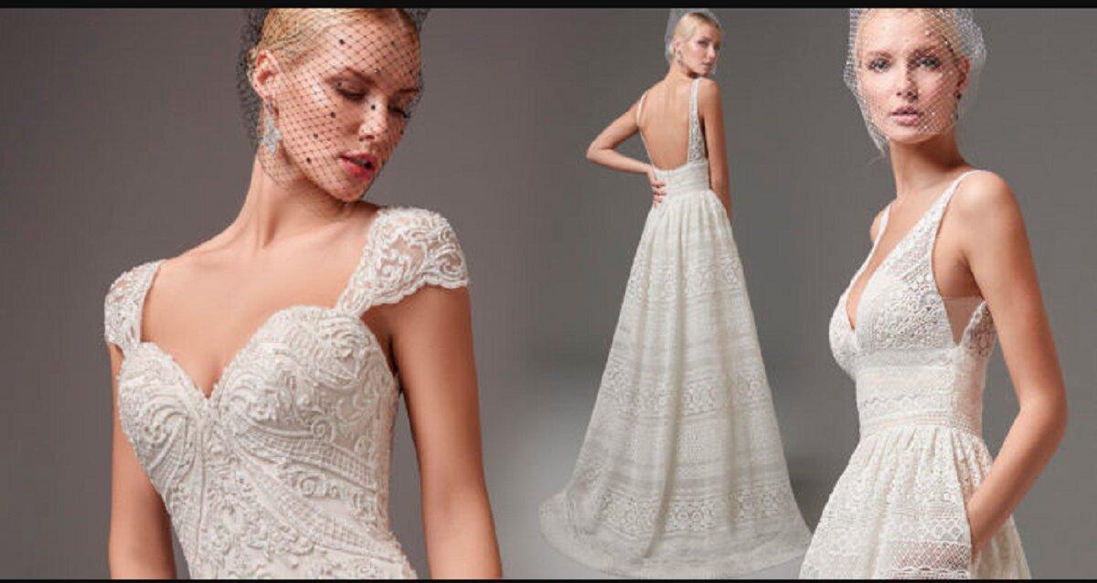 Xu hướng váy cưới cô dâu thu đông từ sàn diễn thời trang Fashion Week 2018