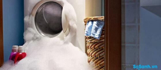 Xử lý các vấn đề liên quan đến nước trong máy giặt