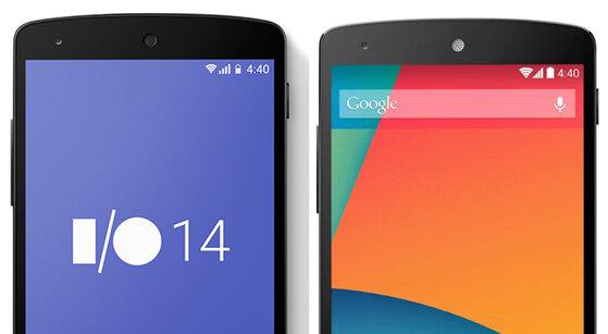 Xuất hiện thanh trạng thái mới của Android trên web Google I/O?