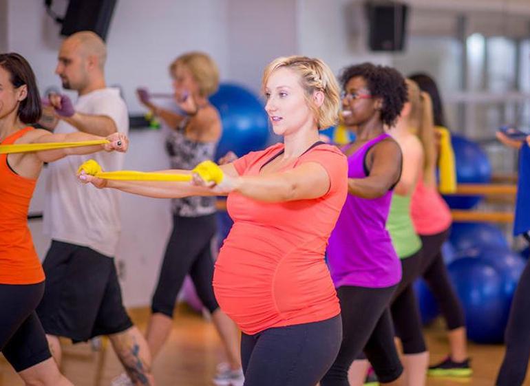 top 5 bài tập thể dục tốt cho tim mạch bà bầu