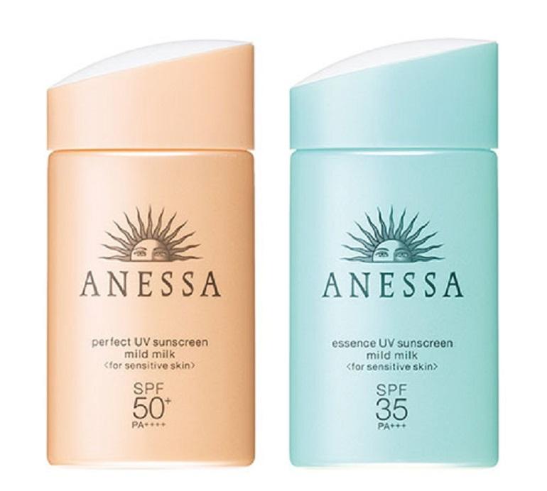 Kem chống nắng Anessa cho da dầu Perfect UV Sunscreen Mild Milk