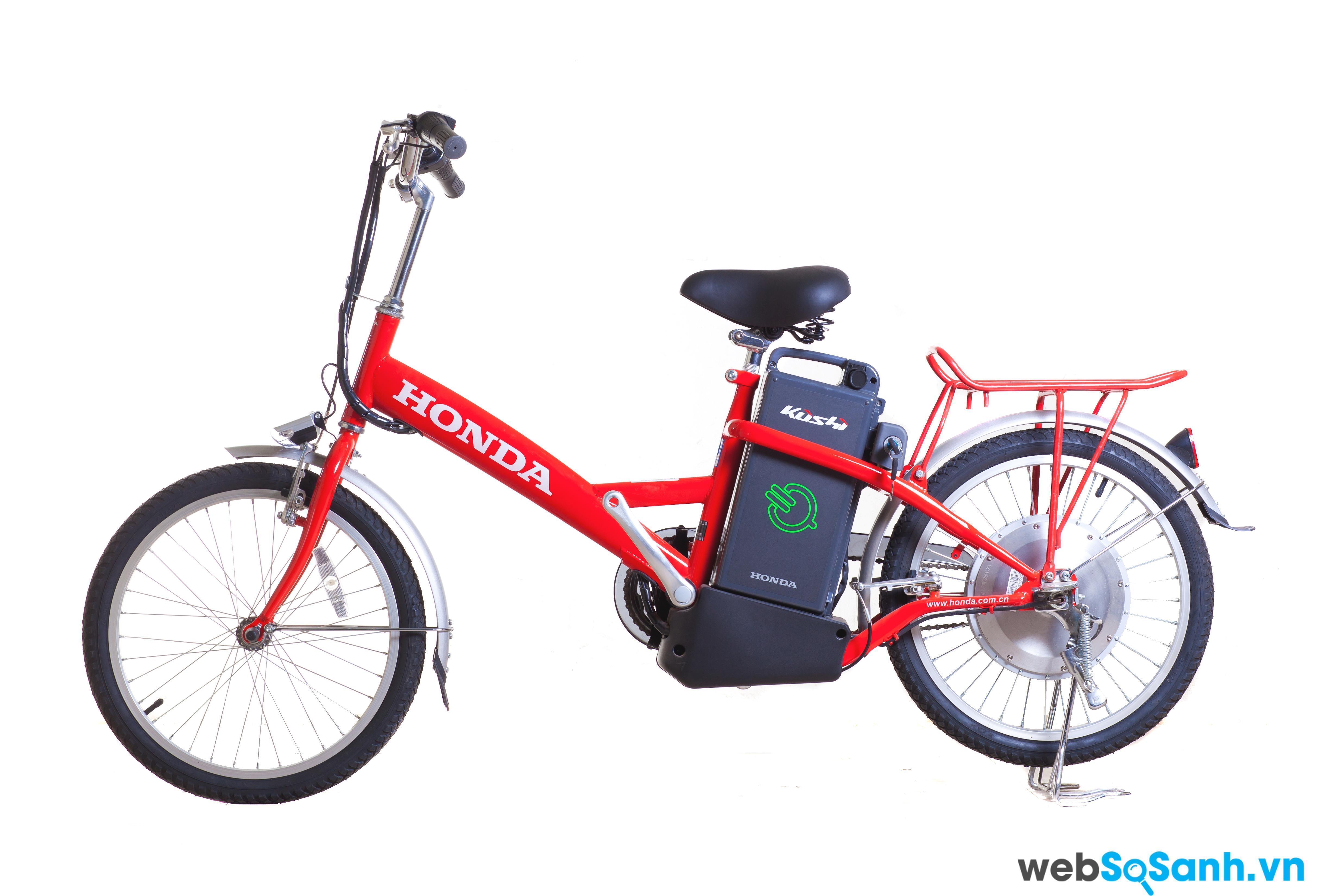 Honda Cool có thiết kế không khác biệt so với một chiếc xe đạp thông thường