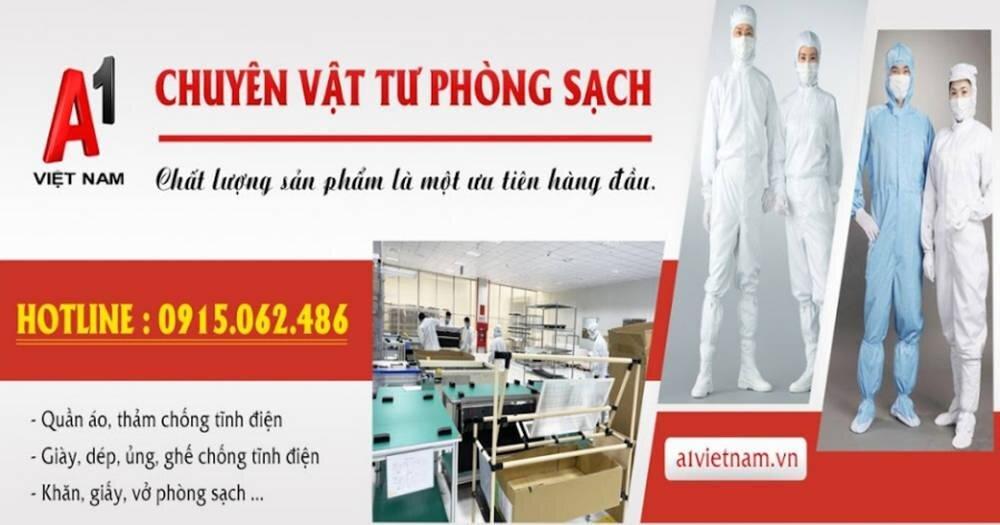 A1 Việt Nam - Nhà cung cấp khẩu trang phòng sạch uy tín