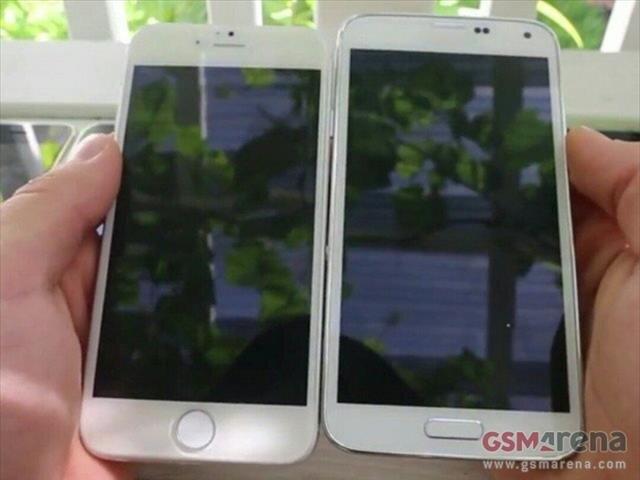 Ý tưởng iPhone 6 bất ngờ xuất hiện cùng Galaxy S5