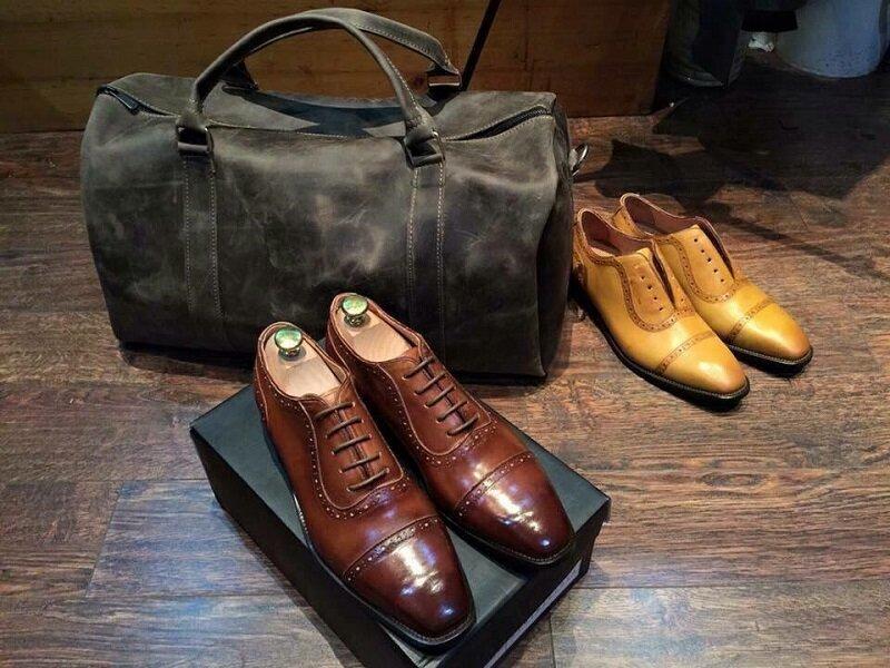 Tổng hợp các mẫu giày tây nam hợp thời trang, chất da tốt