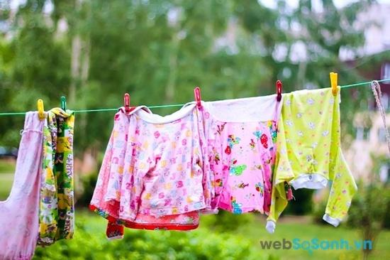 Chức năng giặt hơi nước giúp giảm thiểu tối đa chất gây dị ứng trong đồ (nguồn: internet)