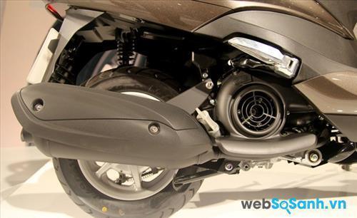 Động cơ Blue Core trên Yamaha Acruzo
