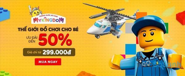 Thế giới đồ chơi cho bé ưu đãi đến 50%