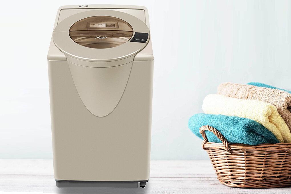 Aqua AQW-F850GT(N) 8.5kg là kiểu máy giặt lồng nghiêng tạo tác động giặt 3 chiều