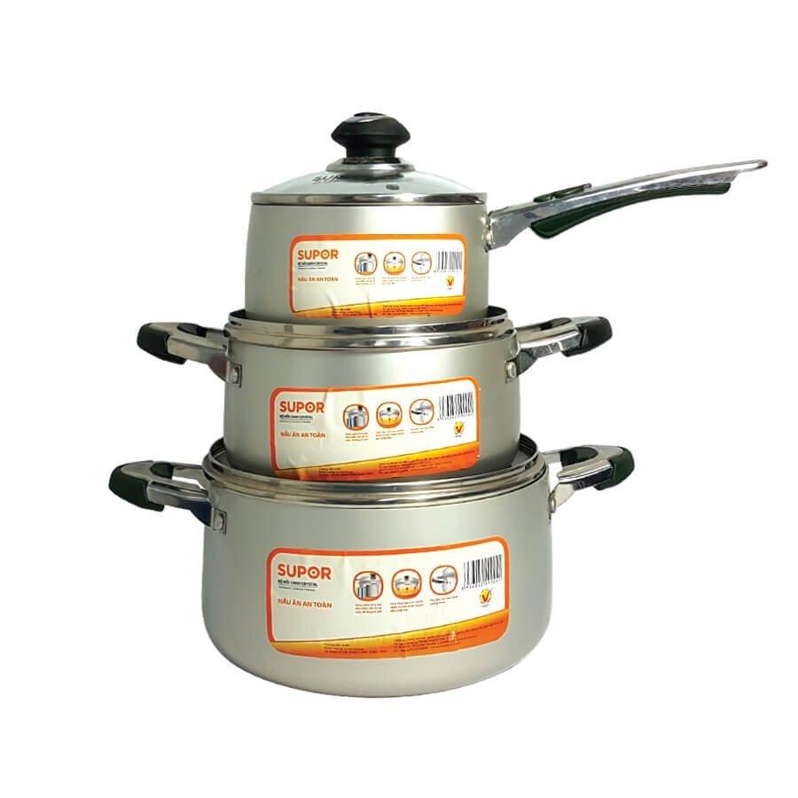 Nồi canh hợp kim nhôm hấp thu nhiệt tốt giúp tiết kiệm thời gian nấu nướng