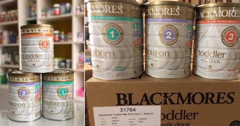Sữa blackmores úc có tốt không ? Giá bao nhiêu tiền ?