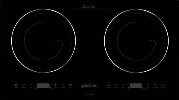 bếp từ đôi giá rẻ Goldsun 2 triệu