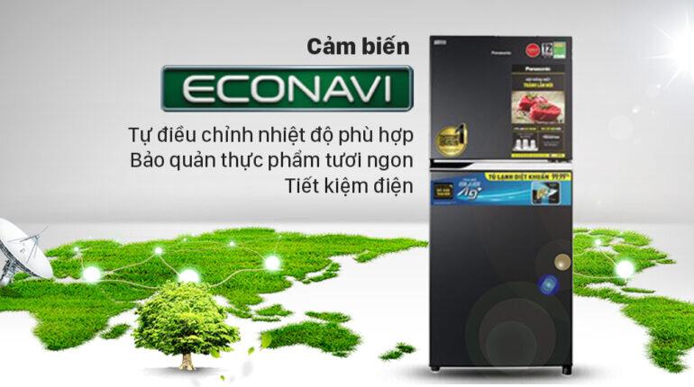 Tủ lạnh Panasonic Inverter 234 lít NR-TV261BPKV - Giá tham khảo khoảng 8,5 triệu vnđ