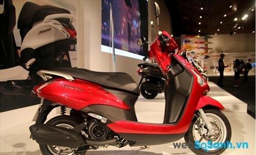 Yamaha Acruzo – Đối thủ của Lead trên thị trường tay ga Việt Nam