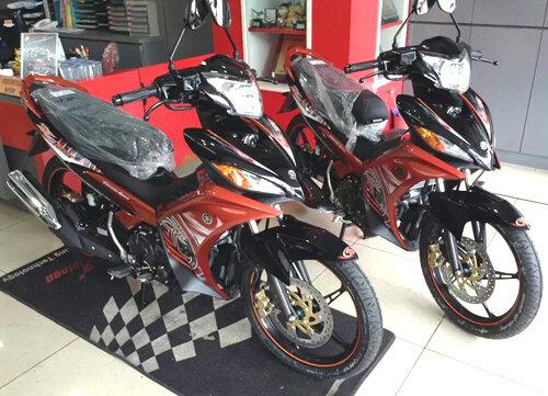 Yamaha Exciter có bộ cánh mới