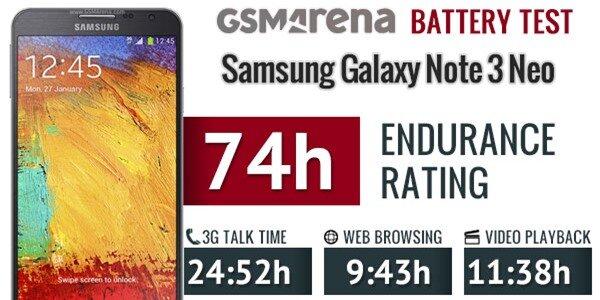 Galaxy Note 3 Neo chính thức gia nhập 'hội phablet' pin trâu