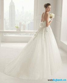 Các mẫu váy cưới đẹp năm 2015